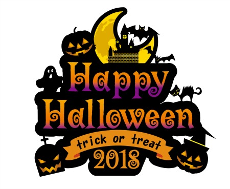 trick or treat image with clipart