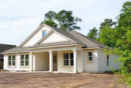 new contructed homes
